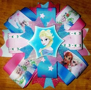 Other - Handmade Elsa hair bow
